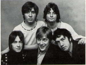 Tony with The Easybeats.  The Vigil album cover photo shoot - mid 1968.